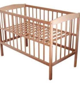 Детская кроватка+матрас ортопедический