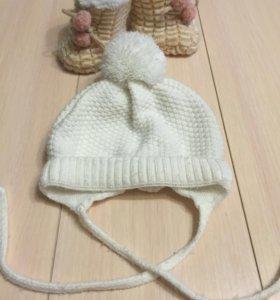 Шапка детская осень-зима