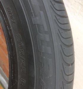 Шины Bridgestone Turanza и Potenza 205/55/16.  91v