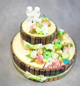 Торт из конфет подарок