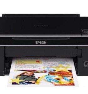 Принтер epson stylus sx 130