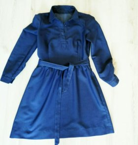 Платье из тонкой джинсы