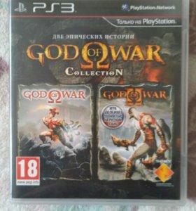 God of war collection для PS3.