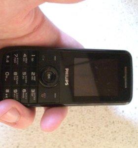 Телефон Philips +Зарядное устройство