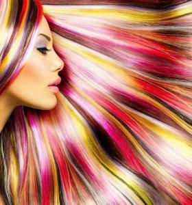 Мелки для волос.💜💙💚Мгновенная краска для волос.