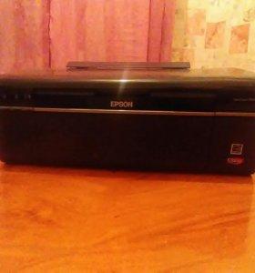 Цветной принтер Epson Stylus T50