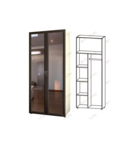 Шкаф+комод+стеллаж
