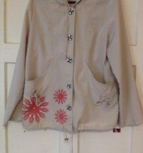 Ветровка и пиджак