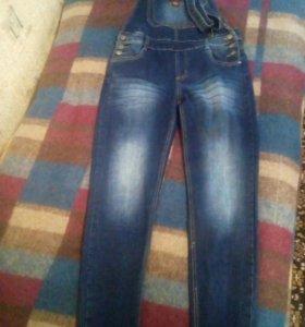 Комбез джинсы