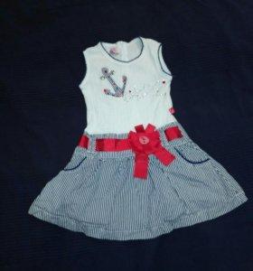 Платье на девочку р.104