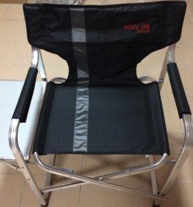 Складной стул со столиком для отдыха на природе