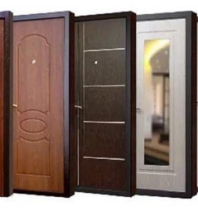Установка(монтаж) входных дверей