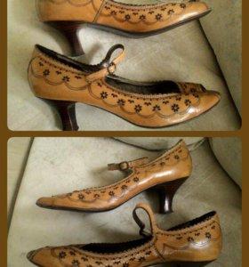 Открытые туфли Tervolina, 41р, стелька 27,5см