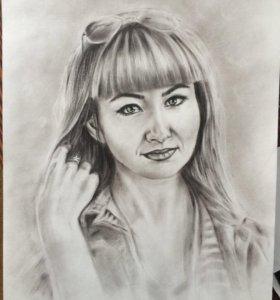Портреты и картины