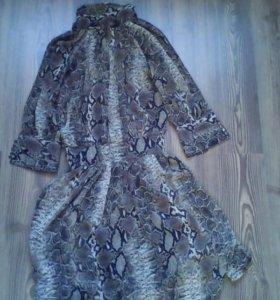 Платье шифон 40-44