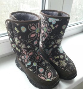 Ботиночки весна осень/тёплая зима