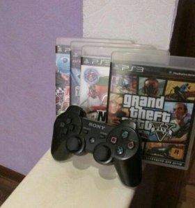 Sony PlayStation 3 Super Slim 500GB + 3 игры