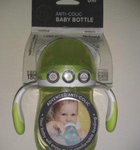 Бутылочка для кормления Happy Baby Anti-colic Baby