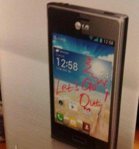 Телефон Lg E612optimus L5(черный)