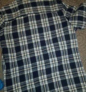 Теплая рубашка 44р-р
