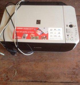 Принтер , сканер, ксерокс (3 в 1CANON ( струйный).