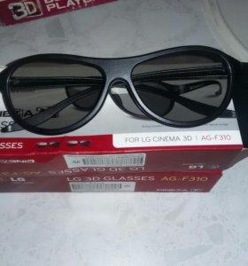 Очки 3D для телезизора lg