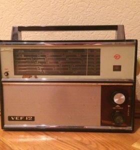 Радио Vef 12. Радиоприёмник Веф 12