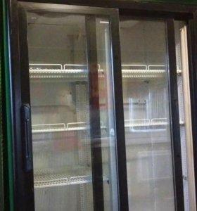Продам холодильник б/у, двухдверный.