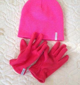 Шапка и перчатки