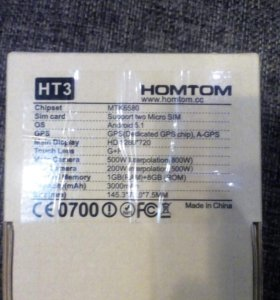 HOMTOM HT-3 Black