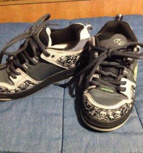 Heelys роликовые кроссовки 36,5 размер