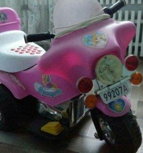 Мотоцикл деский