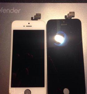 Два дисплея для iPhone 5