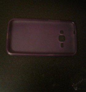 Фиолетовый чехол для sumsung galaxy j1