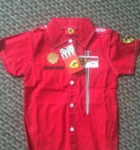 Рубашка Ferrari новая