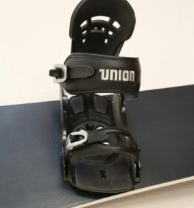Сноуборд Salomon + крепления Union DLX Black