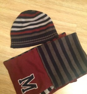 Mayoral шапка шарф
