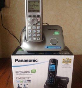 Цифровой беспроводной телефон Panasonic KX-TG6611R