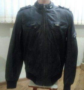 Куртка мужская REDSKINS из натуральной кожи, новая