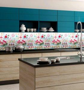 Фартуки для кухни АБС пластик