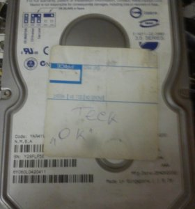 Жосткий диск на 60 GB
