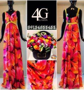 Платье в пол 4G by Gizia
