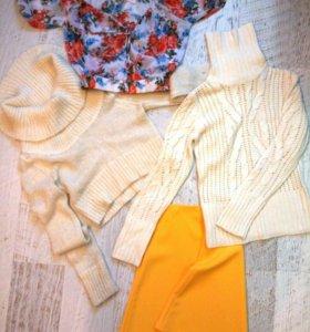 Кофта свитер юбка блузка