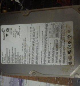 Жосткий диск на 40 GB