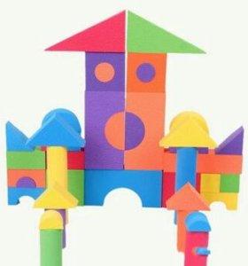Мягкий развивающий конструктор