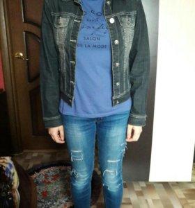 Новые джинсовые куртки