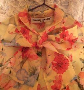 Шелковая рубашка Frankie Morello