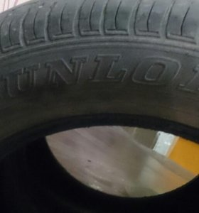 Летняя резина 195/65/15, 2шт. Dunlop
