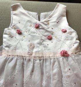 Платье нарядное на 116