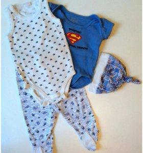 Пакет одежды для новорожденных